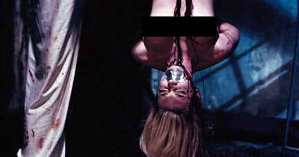 tied horror Nude movies up